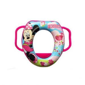 Infantes Baby Printed Toilet Seat Minnie Mouse Pink