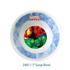 Marvel Heroes 2 Soup Bowl