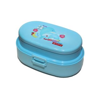 Lion Star OVAL POP LUNCH BOX Blue