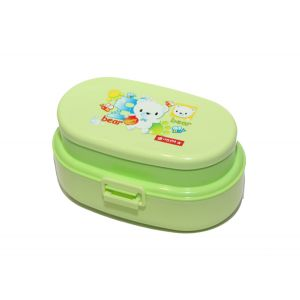 Lion Star OVAL POP LUNCH BOX Green