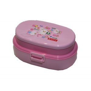Lion Star OVAL POP LUNCH BOX Pink