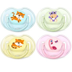 Avent 0-6 Classic Soother Mix Pk2