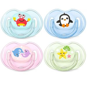 Avent 0-6M Classic Soother Mix Pk2