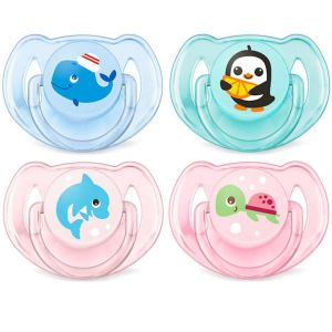 Avent 6-18 Classic Soother Mix Pk2