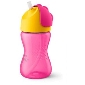 Avent Straw Cup 10OZ PK1 Pink