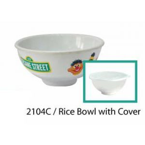 Sesame Street 1 Rice Bowl w/cover