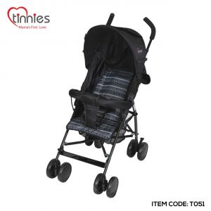 TINNIES BABY BUGGY-BLACK