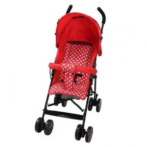 TINNIES BABY BUGGY-RED